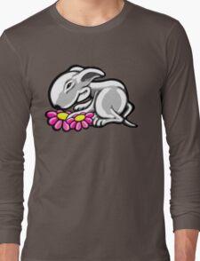 English Bull Terrier Daisy Long Sleeve T-Shirt