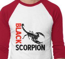 BLACK SCORPION Men's Baseball ¾ T-Shirt