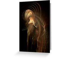 Fractal Octopus Greeting Card