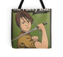 Stick 'Em With The Pointy End Tote Bag