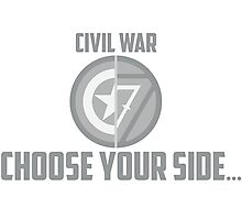 Marvel Civil War - Choose Your Side V.01 Photographic Print