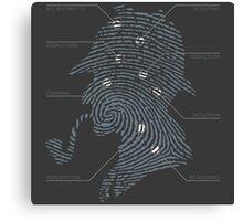 Print Analysis Canvas Print