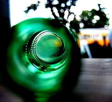 green glass see. by true