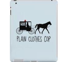 Plain Clothes Cop iPad Case/Skin