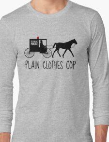 Plain Clothes Cop Long Sleeve T-Shirt