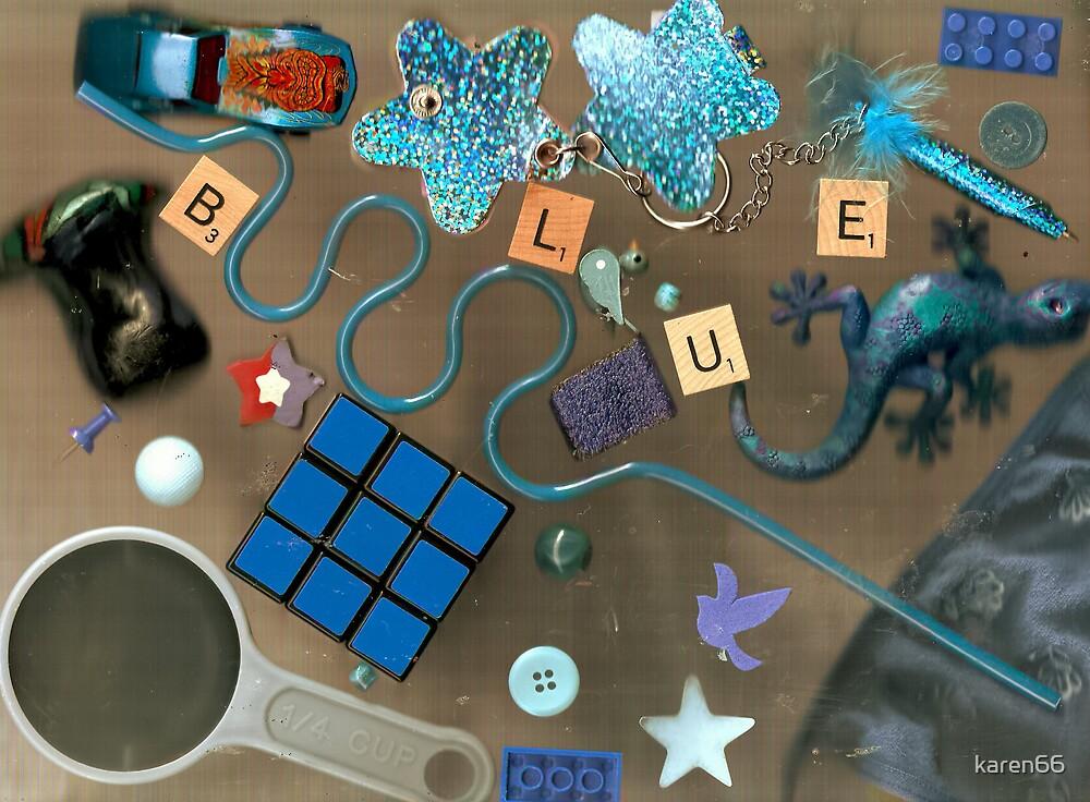 Blue Collage 2 by karen66