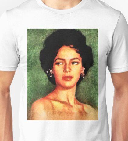 Dorothy Dandridge, Vintage Hollywood Legend Unisex T-Shirt