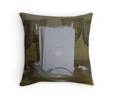 embraced - carols holy wedding bible   Throw Pillow