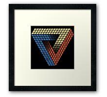Penrose Puzzle Framed Print