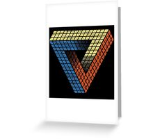 Penrose Puzzle Greeting Card