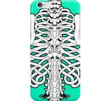 Shoulders and Spine Celtic Design White iPhone Case/Skin