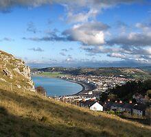 Llandudno Bay North Wales by warrenphotog