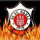 FC ST Pauli Fire Shield Design by Sookiesooker