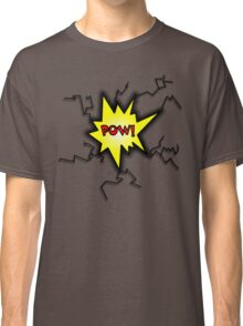 POW Caption Cushion Cover Classic T-Shirt