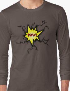 POW Caption Cushion Cover Long Sleeve T-Shirt