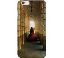 Dark red dress iPhone Case/Skin
