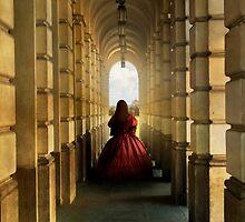 Dark red dress by JBlaminsky