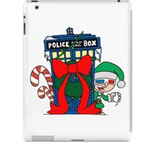 Snowball Fight with the Doctor! iPad Case/Skin