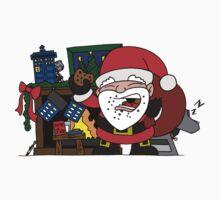 Whovian Santa Kids Clothes