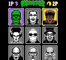 8 Bit Monsters by Tom Burns