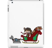 Timelord Santa! iPad Case/Skin