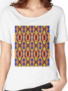 Cute colourful pattern Women's Relaxed Fit T-Shirt