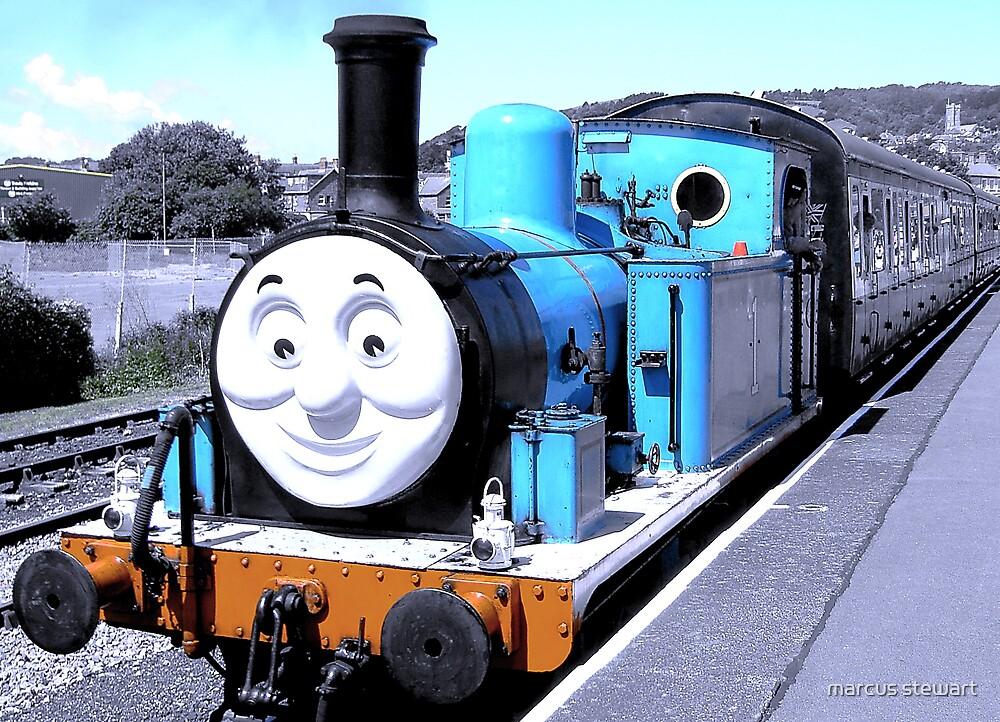 Train by marcus stewart