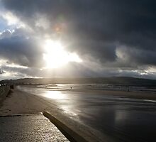 Sunburst at Ayr by Mark Baldwyn