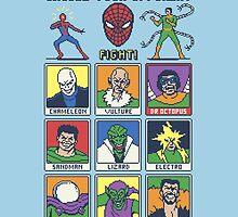 8 Bit Spider Fighter by Tom Burns