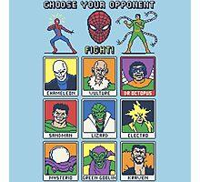 8 Bit Spider Fighter Photographic Print