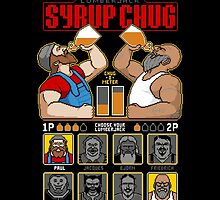 8 Bit Super Lumberjack Syrup Chug by Tom Burns