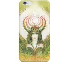 """THE CAPRICORN"" - Protective Angel for Zodiac Sign iPhone Case/Skin"