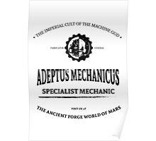 Adeptus Mechanicus - Warhammer Poster