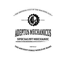 Adeptus Mechanicus - Warhammer Photographic Print