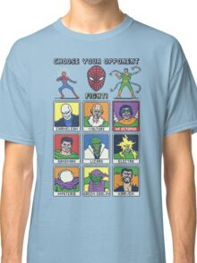 8 Bit Spider Fighter Classic T-Shirt