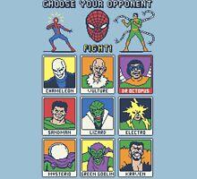 8 Bit Spider Fighter Unisex T-Shirt