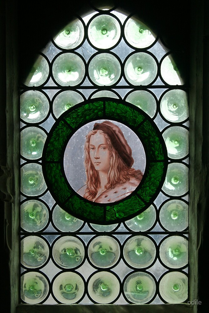 window in a French chateau by odile