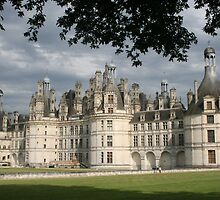 chateau of chambord by odile