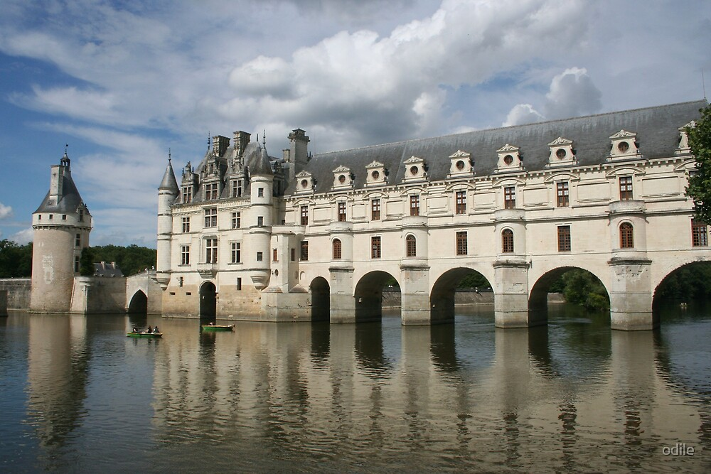 french chateau  by odile