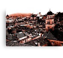 Dubrovnik Roofs Canvas Print