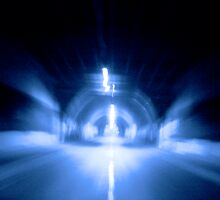 blue tunel by chernandez82
