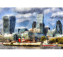 London View Art Photographic Print