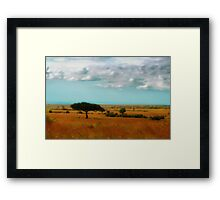 Wonder of the Mara Framed Print