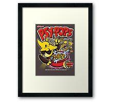 Psy-pops Framed Print