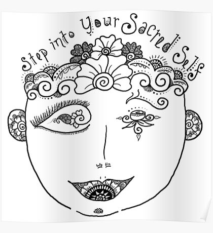 Step Into Your Sacred Self from MotherHenna.com Poster