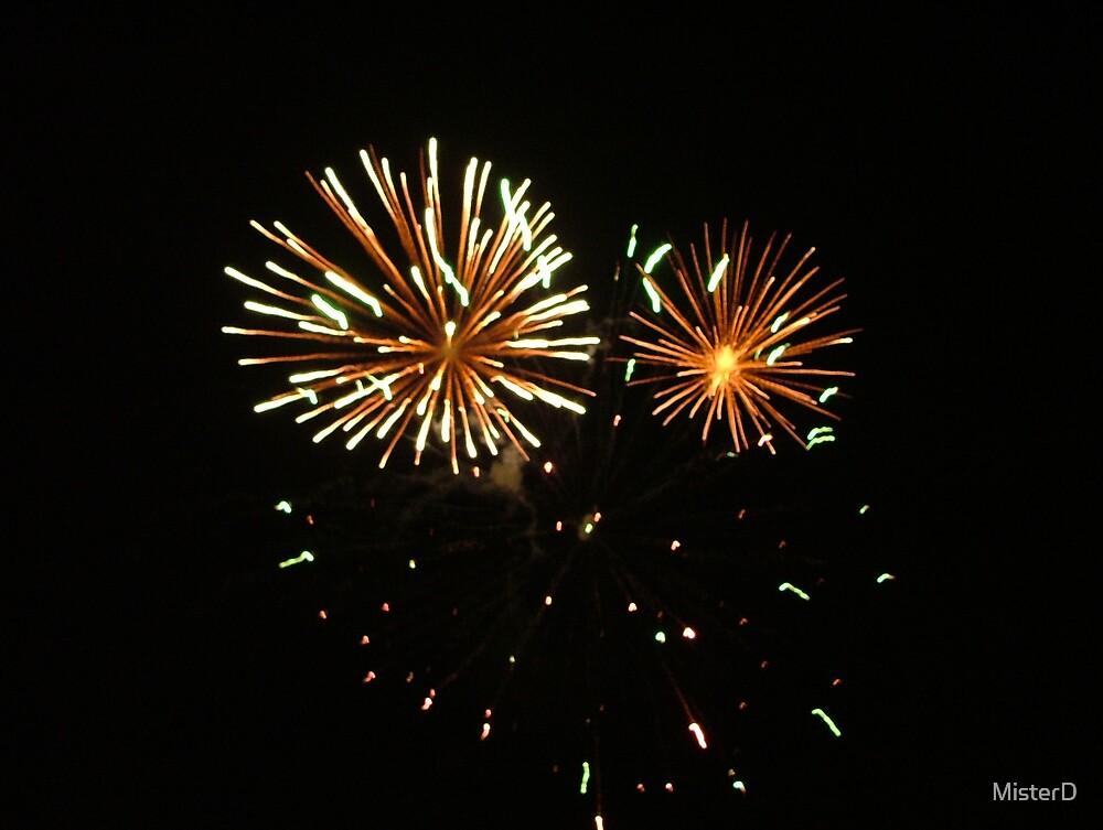 Fireworks by MisterD