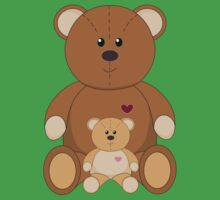 TWO TEDDY BEARS Kids Clothes
