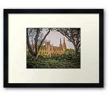 Towers and Spires of St Mary's Framed Print