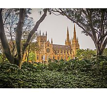 Towers and Spires of St Mary's Photographic Print
