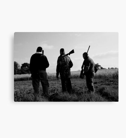 Gone Shooting Canvas Print